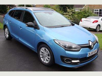 Renault Megane Estate 1.6 dCi ENERGY Limited Nav Sport Tourer (s/s) 5dr