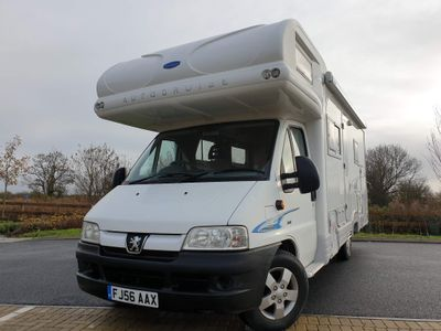 Autocruise Deposit now taken Coach Built Peugeot boxer 2.8 hdi