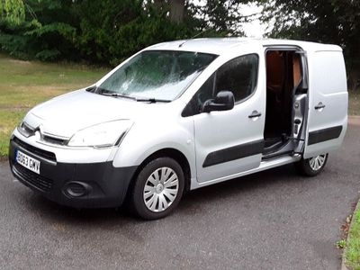 Citroen Berlingo Panel Van 1.6 HDi L1 625 Enterprise Panel Van 5dr Diesel Manual (133 g/km, 75 bhp)