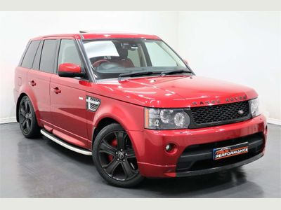 Land Rover Range Rover Sport SUV 5.0 V8 Supercharged Autobiography Sport 4X4 5dr