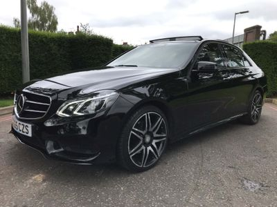 Mercedes-Benz E Class Saloon 2.0 E250 AMG Night Edition (Premium Plus) 7G-Tronic Plus 4dr