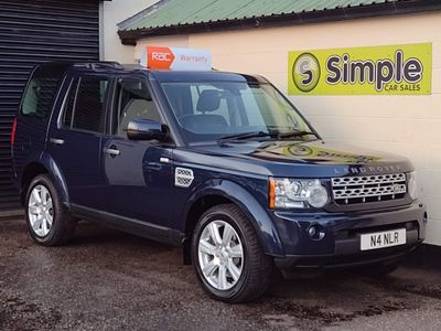 Land Rover Discovery 4 SUV 3.0 SD V6 HSE Auto 4WD 5dr