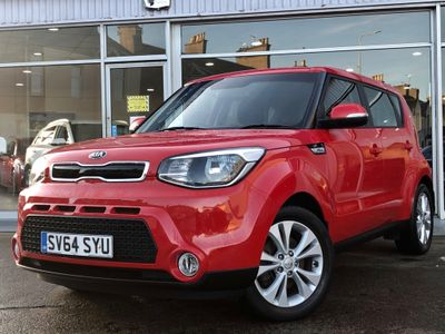 Kia Soul SUV 1.6 GDi Connect 5dr