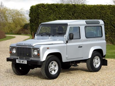 Land Rover Defender 90 SUV 2.4 TDi County Station Wagon 3dr