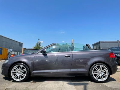 Audi A3 Cabriolet Convertible 1.8 TFSI S line Cabriolet S Tronic 2dr