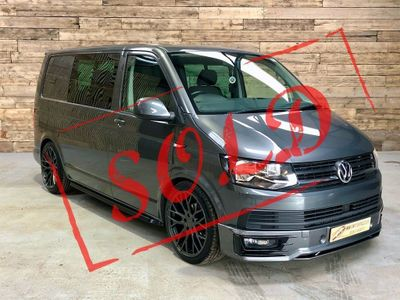 Volkswagen Transporter Window Van 2.0 BiTDI T32 BlueMotion Tech Highline Crew Van DSG FWD (s/s) 5dr