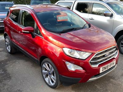 Ford EcoSport SUV 1.0T EcoBoost Titanium (s/s) 5dr