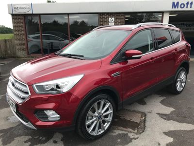 Ford Kuga SUV 2.0 TDCi EcoBlue Titanium X Edition (s/s) 5dr