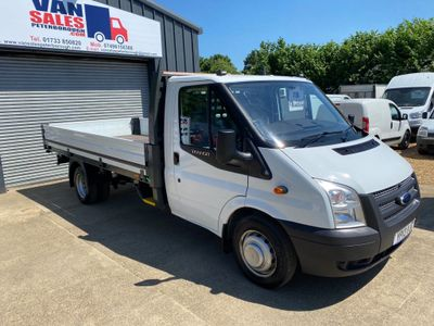 Ford Transit Dropside 2.2 TDCi 350 Chassis Cab RWD EF 2dr (EU5, DRW, Extended Frame)
