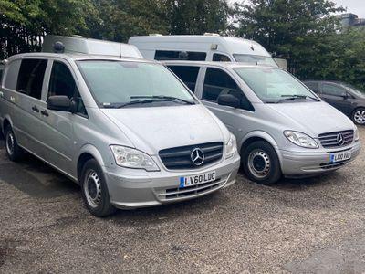Mercedes-Benz Vito Minibus 2.1 CDI Dualiner Panel Van 5dr (6 Seats)