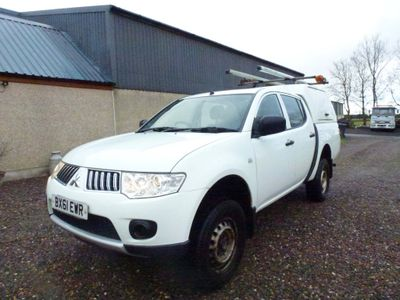 Mitsubishi L200 Pickup 2.5 DI-D CR 4Work LB Double Cab Pickup 4WD 4dr