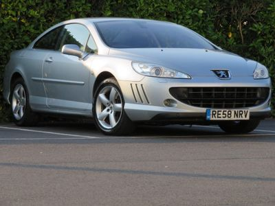 Peugeot 407 Coupe 2.0 HDi Sport 2dr