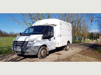 Ford Transit Chassis Cab 350 MWB WORKSHOP BOX DIRECT BT