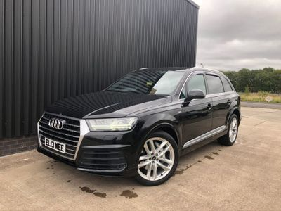 Audi Q7 SUV 3.0 TDI QUATTRO S LINE 5d 269 BHP Virtual Cockpit, Leather, Heads UP