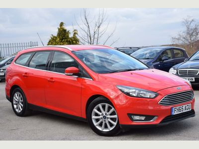 Ford Focus Estate 2.0 TDCi Titanium (s/s) 5dr