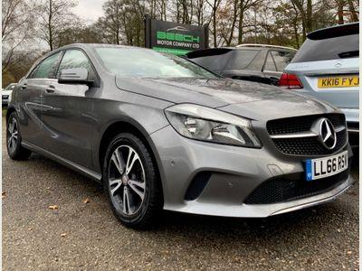 Mercedes-Benz A Class Hatchback 1.5 A180d SE 7G-DCT (s/s) 5dr