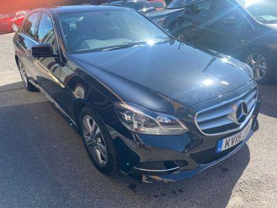 Mercedes-Benz E Class Saloon 2.1 E220 CDI BlueTEC SE 7G-Tronic Plus 4dr