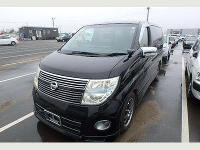 Nissan Elgrand MPV NE51 4WD HIGHWAYSTAR BLK LEATHER EDITION