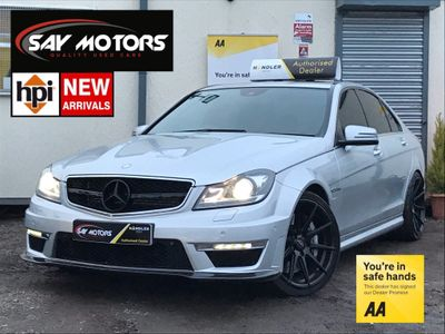 Mercedes-Benz C Class Saloon 6.3 C63 AMG MCT 7S 4dr (COMAND)