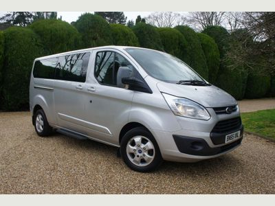 Ford Tourneo Custom Other 2.2 TDCi 300 Titanium Low Roof Shuttle Bus L 5dr (9 Seats, LWB)