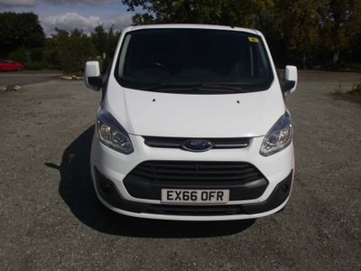 FORD TRANSIT CUSTOM Panel Van 290 LTD E-