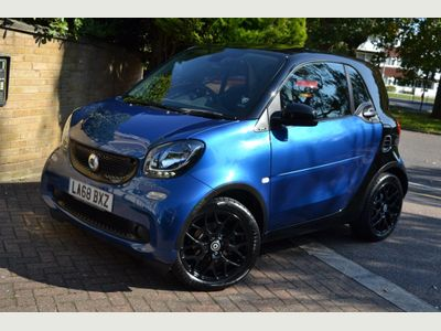 Smart fortwo Coupe 1.0 Prime Sport (Premium) Twinamic (s/s) 2dr