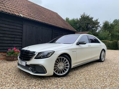 MERCEDES-BENZ S CLASS Saloon 6.0 S65L V12 AMG SpdS+7GT (s/s) 4dr