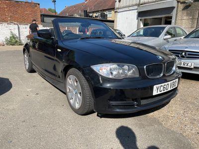 BMW 1 Series Convertible 2.0 120d SE Auto 2dr