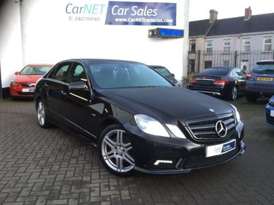 Mercedes-Benz E Class Saloon 2.1 E220 CDI BlueEFFICIENCY Sport 4dr