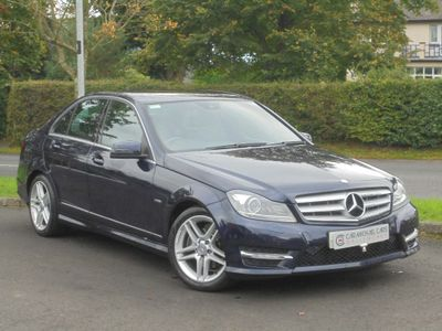 Mercedes-Benz C Class Saloon 1.8 C180 BlueEFFICIENCY Sport Edition 125 4dr