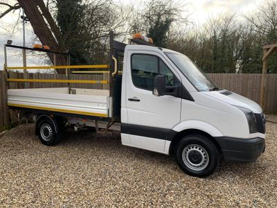 Volkswagen Crafter Chassis Cab 2.0TDi 136PS CR35 DROPSIDE - TWIN WHEEL