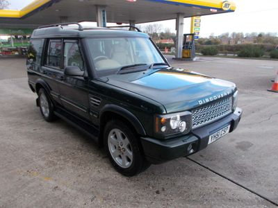 Land Rover Discovery SUV 4.0 i V8 XS 5dr (7 Seats)