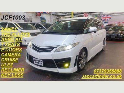 Toyota Estima Unlisted AERAS TRD MODIFIED ULEZ COMP P DOORS