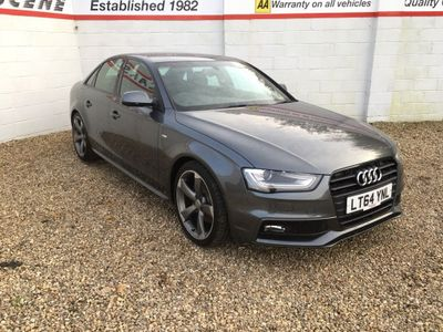 Audi A4 Saloon 2.0 TDI Black Edition Multitronic (s/s) 4dr