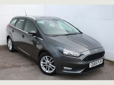 Ford Focus Estate 1.6 Zetec Powershift 5dr