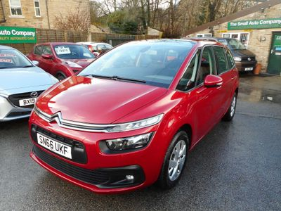 Citroen Grand C4 Picasso MPV 1.6 BlueHDi Touch Edition EAT6 (s/s) 5dr