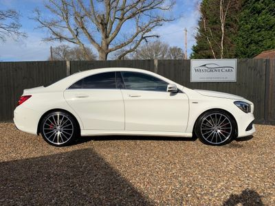 Mercedes-Benz CLA Class Coupe 2.0 CLA250 AMG 7G-DCT 4MATIC (s/s) 4dr