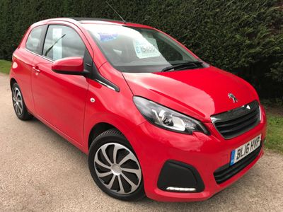 Peugeot 108 Convertible 1.0 VTi Active Top! 3dr
