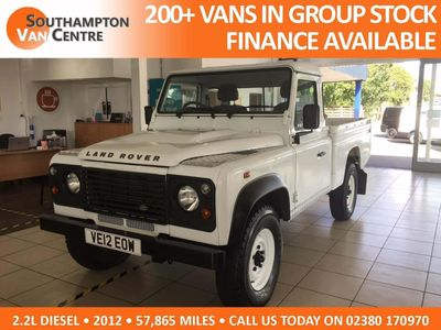 Land Rover Defender 110 Pickup 2.2 D DPF Pick-Up 2dr (High capacity)