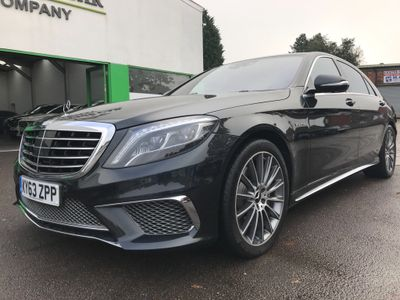 Mercedes-Benz S Class Saloon 5.5 S63 AMG L MCT 4dr