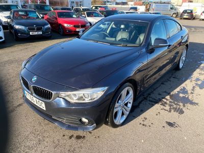BMW 4 Series Gran Coupe Saloon 2.0 420d SE Gran Coupe Auto (s/s) 5dr