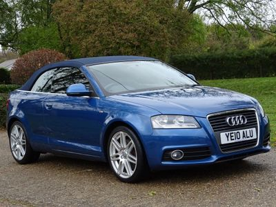Audi A3 Cabriolet Convertible 2.0 TFSI Cabriolet S Tronic 2dr
