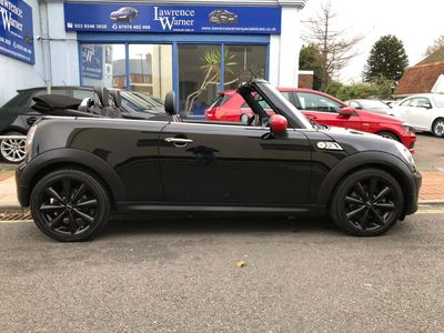 MINI Convertible Convertible 1.6 Cooper S (Chili, Media XL) (s/s) 2dr