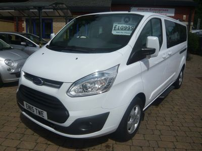 Ford Tourneo Custom Other 2.2 TDCi 300 Zetec Low Roof Shuttle Bus L 5dr (9 Seats, LWB)