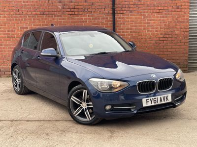 BMW 1 Series Hatchback 2.0 118d Sport 5dr