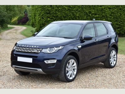 Land Rover Discovery Sport SUV 2.0 TD4 HSE Luxury Auto 4WD (s/s) 5dr 7 Seat