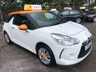 CITROEN DS3 Hatchback 1.4 VTi DSign 3dr