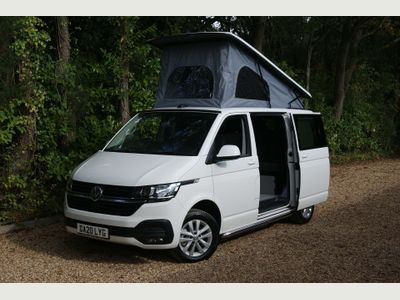 Volkswagen Transporter Campervan T6.1 110PS SWB 4 Berth 5 Seat Campervan Highline