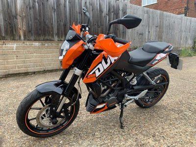 KTM 200 Duke Naked 200 Duke