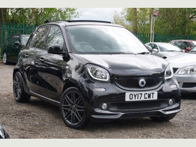 Smart forfour Hatchback 0.9T BRABUS Sport Night Sky (Premium Plus) Twinamic (s/s) 5dr